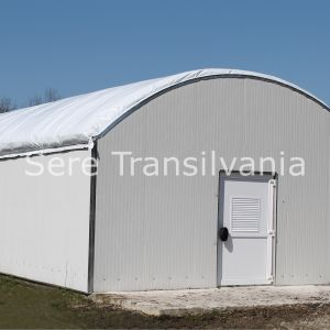 Ciupercărie cu pereți verticali 6x22,5m, 135mp (Champignon)