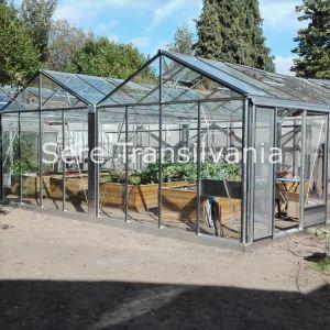 sera de sticla euro super 6.26x8.30m cu legume palisate