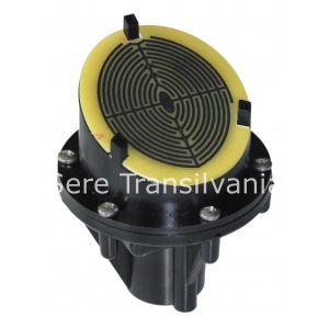 senzor de ploaie pentru sera sau solar pe fundal alb