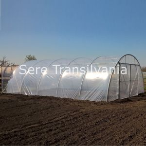 Solar tunel 8x10m, folie dublă inflată