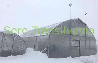 Încărcarea de zăpadă pe sere și solarii și îndepărtarea acesteia