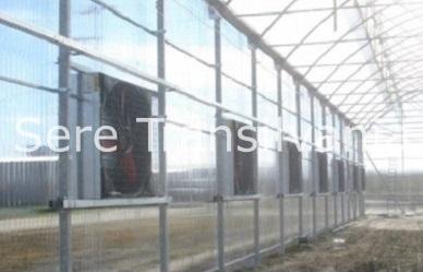 Automatizarea sistemului de ventilare în sere și solarii profesionale
